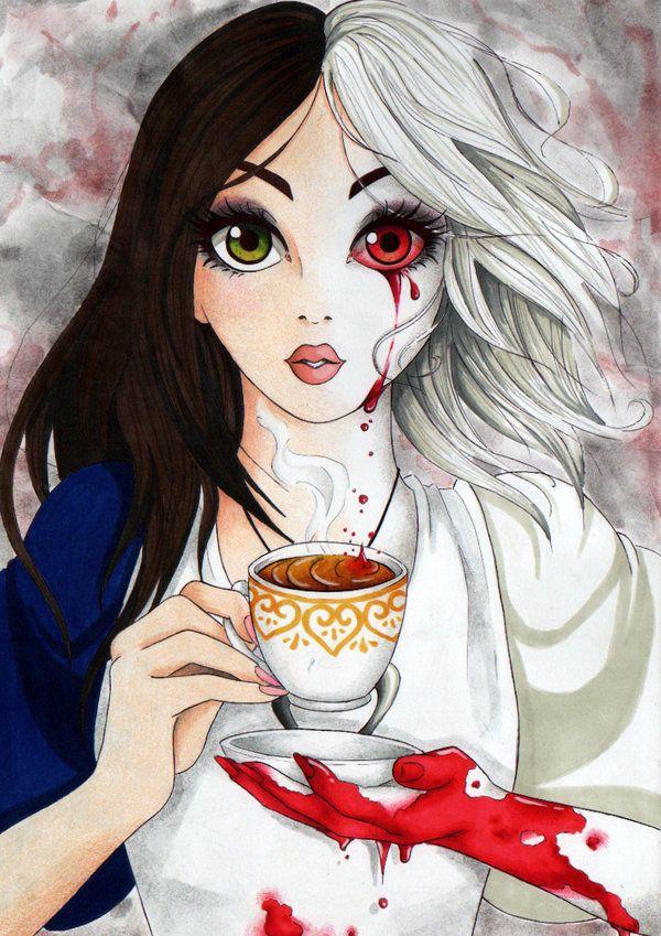 Alice By Silvera Chan Deviantart Com On Deviantart Dibujos De