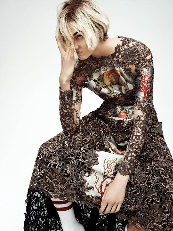 Karlie Kloss for Interview