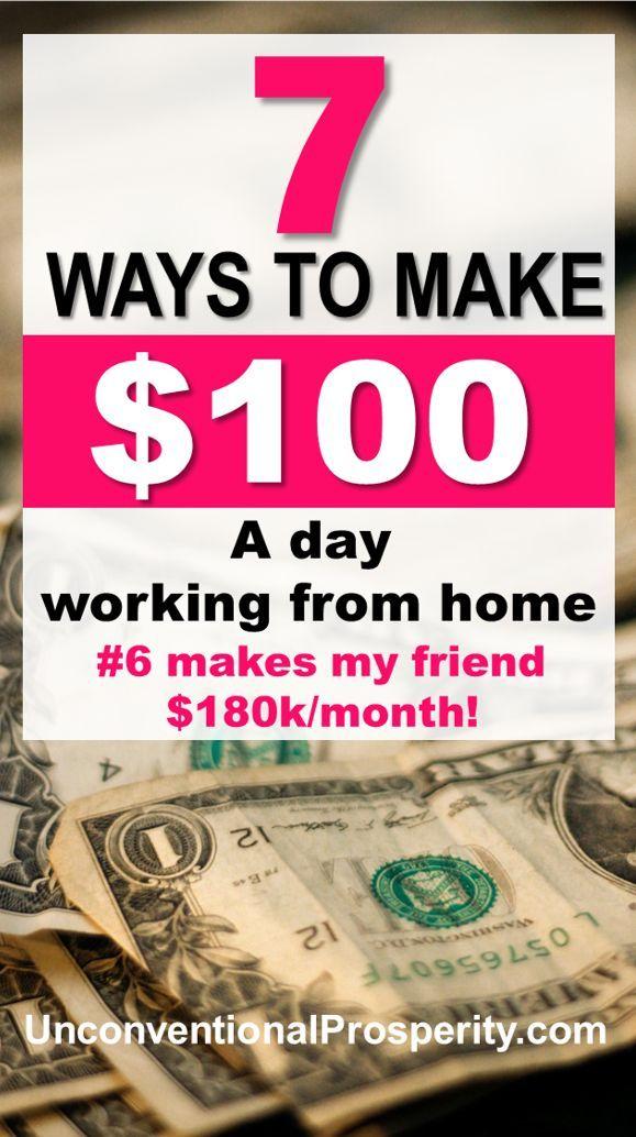 Wie man 100 Dollar pro Tag von zu Hause aus verdient   – Stay-at-Home Moms (Online Jobs)