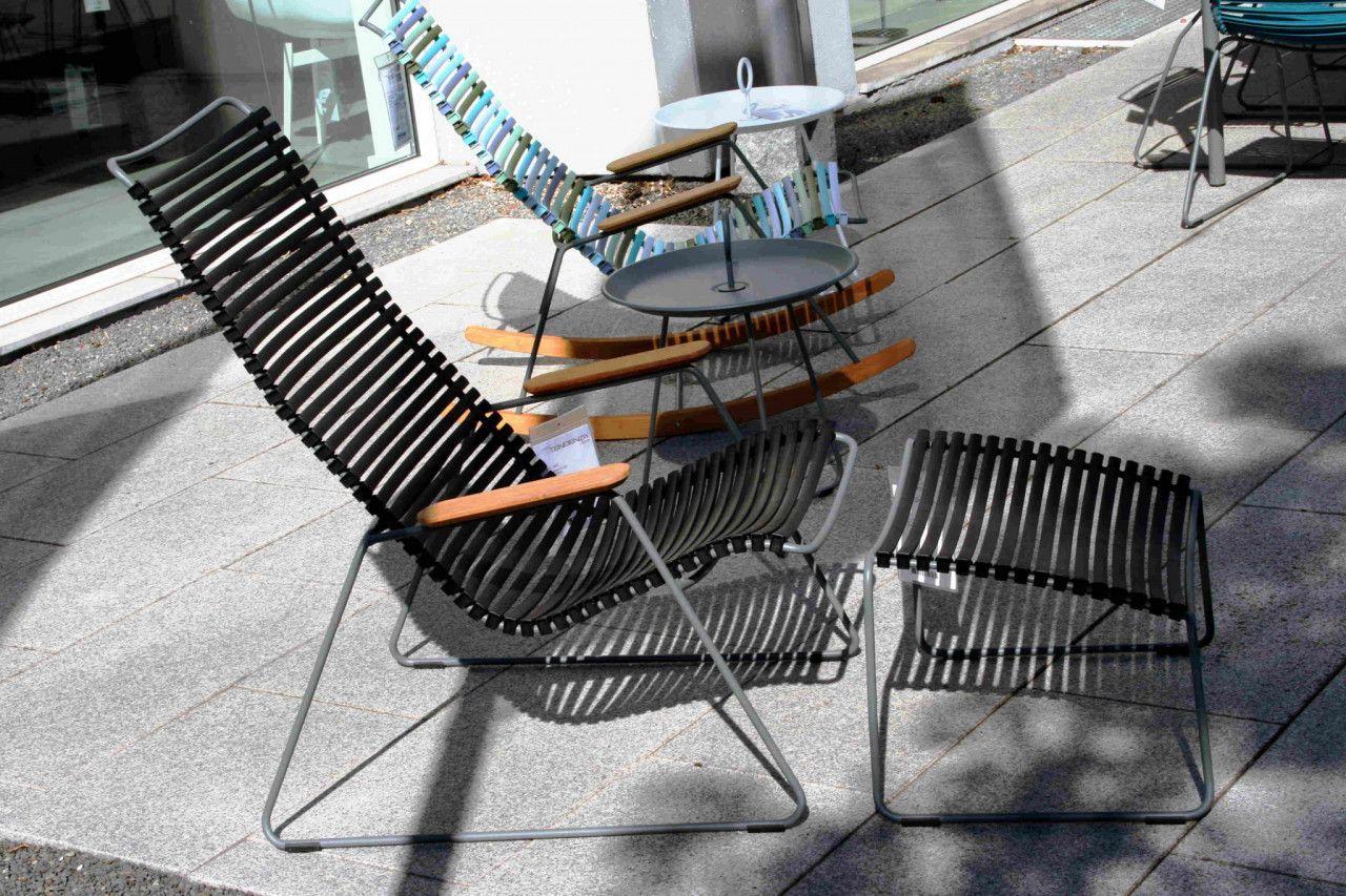 Lounge Chair Click Von Houe Bambus Schwarz Stahl Grau Mobel Gartenmobel Sommer Garten Sonne Liege Liege Gartenstuhle Gartenmobel Grune Wohnzimmer