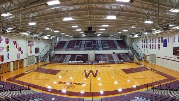 The Gym Of My Alma Mater Winamac Community High School Go Warriors Indiana Basketball Indiana High School Basketball High School Basketball
