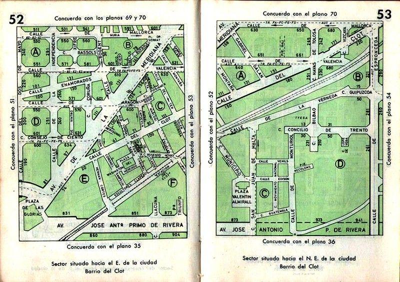 Avenida Meridiana - Avinguda Meridiana - La Barcelona de antes
