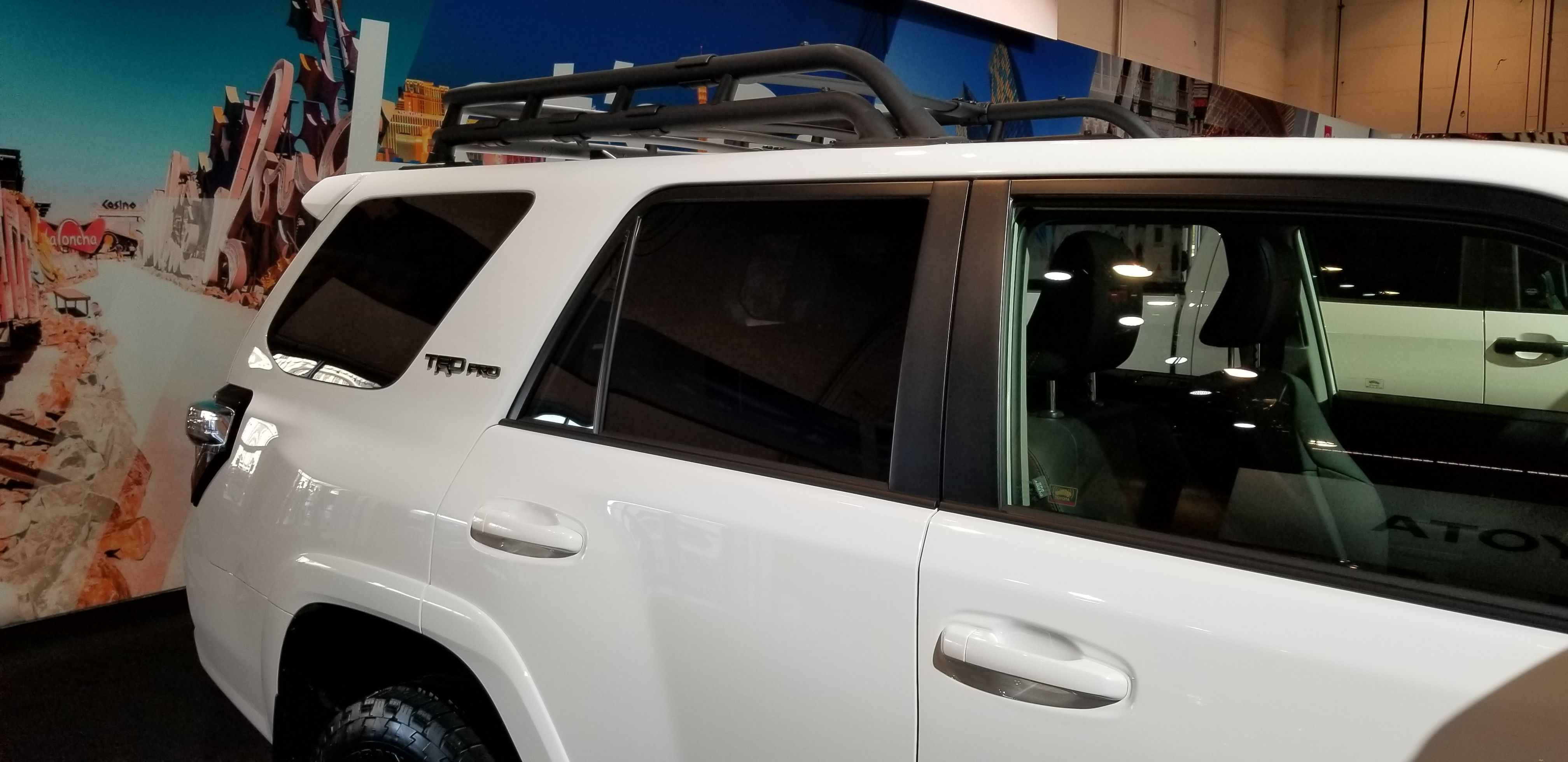 This 4runner Is Sporting A Roof Rack More Often Worn By It S