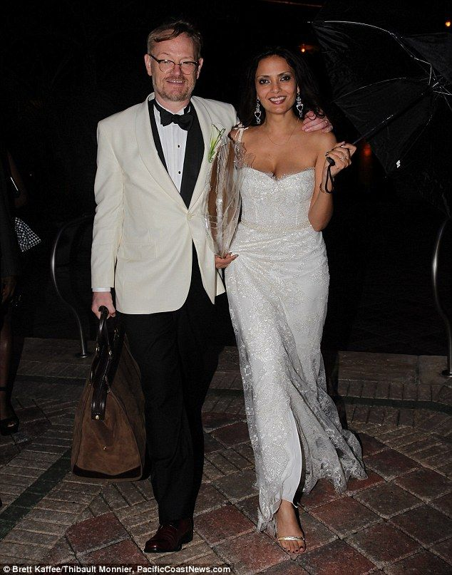 Pictured Mad Men Star Jared Harris Ties The Knot With Angelic