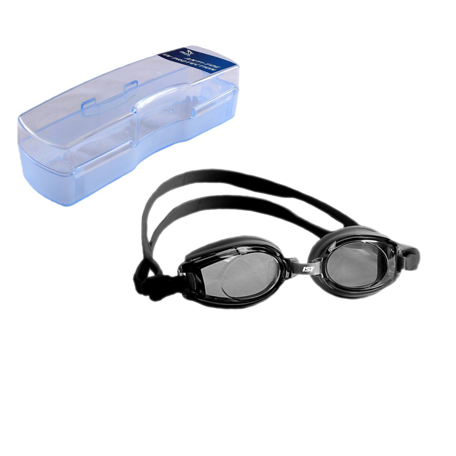 300446a15d2 Best Swim Goggles for Glasses Wearers Reviews on Flipboard. IST RX  prescription swim Goggle with Optical Corrective UV Protection AntiFog  Lenses 250 ...