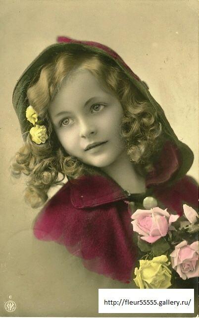 Gallery.ru / Фото #2 - Красивые девочки (ретро) 2 ...