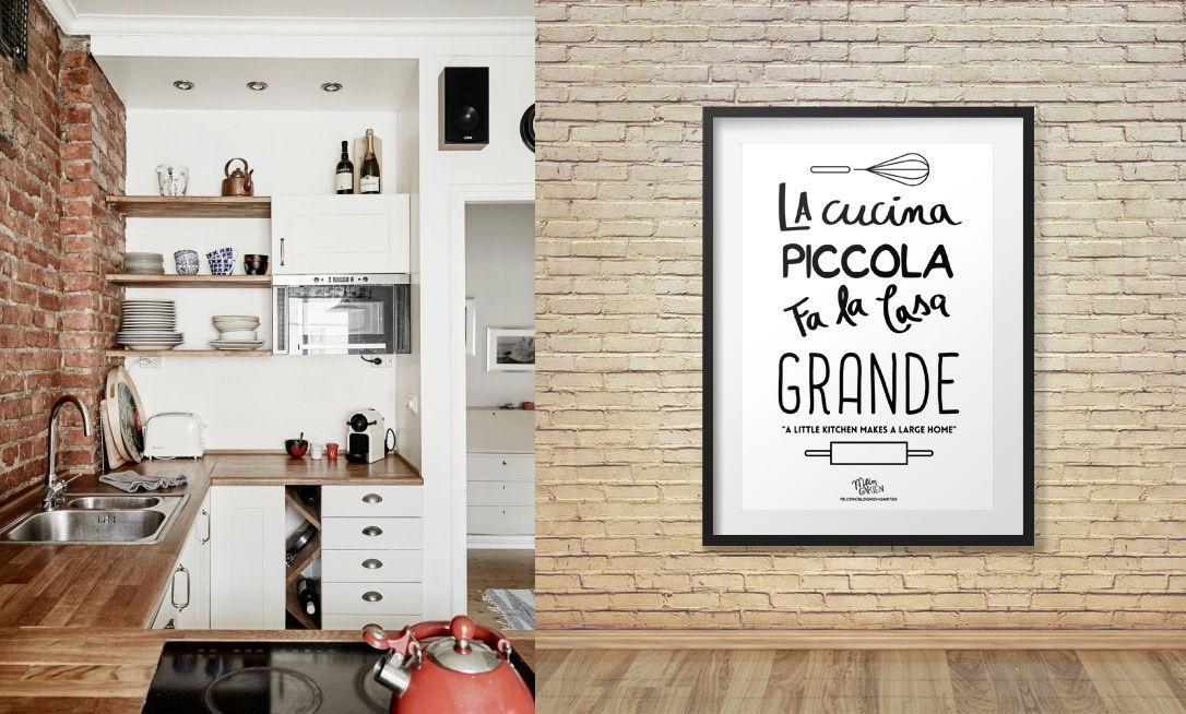 Mein Garten | Poster: La cucina piccola fa la casa grande | http ...