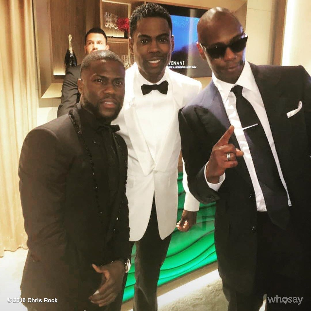 I'm in good company  by chrisrock | #ourfansmadethis | Dave