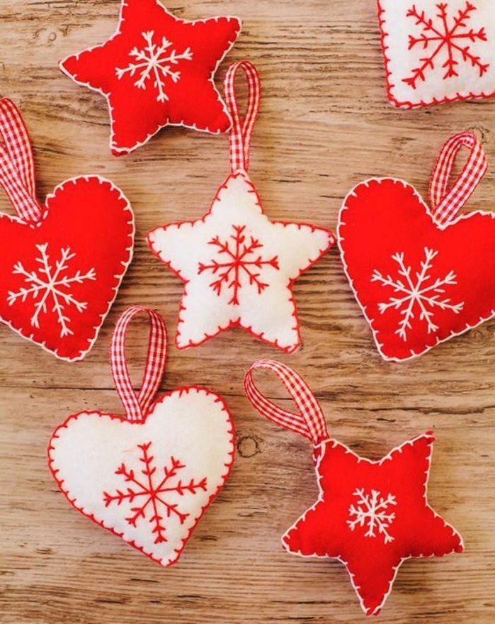 Décoration de Noël à fabriquer soimême 87 idées DIY