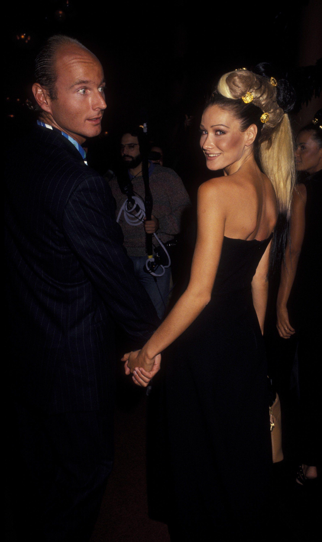 Carla Bruni and Prince Dimitri of Yugoslavia, September 1992