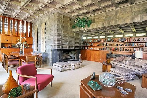 A Famous Frank Lloyd Wright House For Sale Usonian