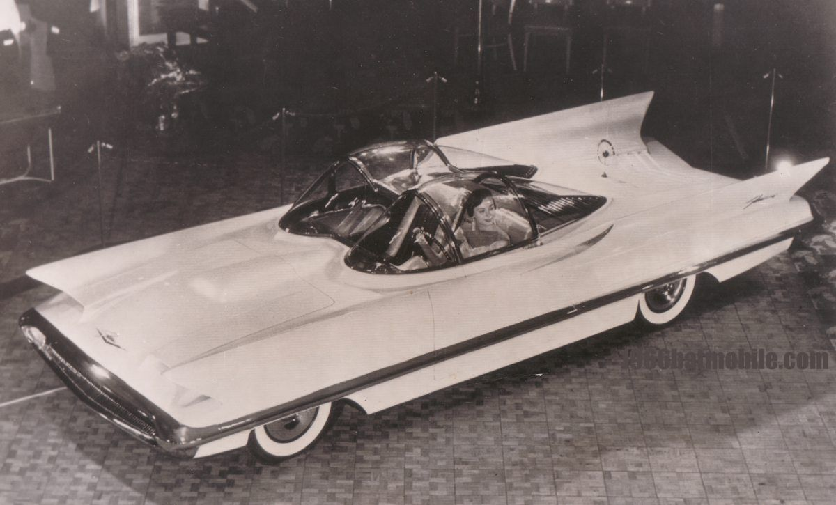 Lincoln Futura The Concept Car Made By Ghia Which Has