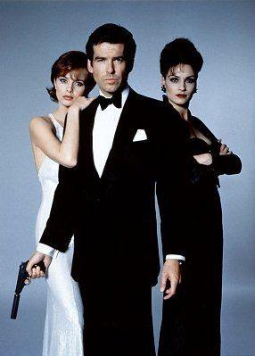 The Cast Of The James Bond Film Goldeneye James Bond Girls