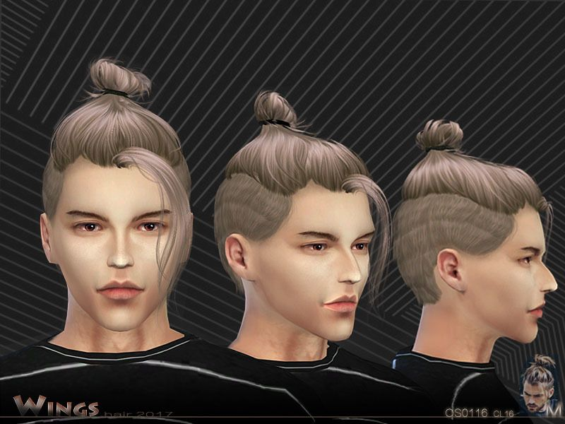 Created for: The Sims 4 This hairstyle for men's hair I hope you ...