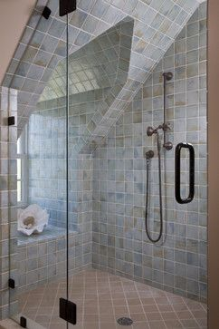 Shower In Dormer Design Ideas Pictures Remodel And Decor Attic Flooring Attic Design Attic Remodel