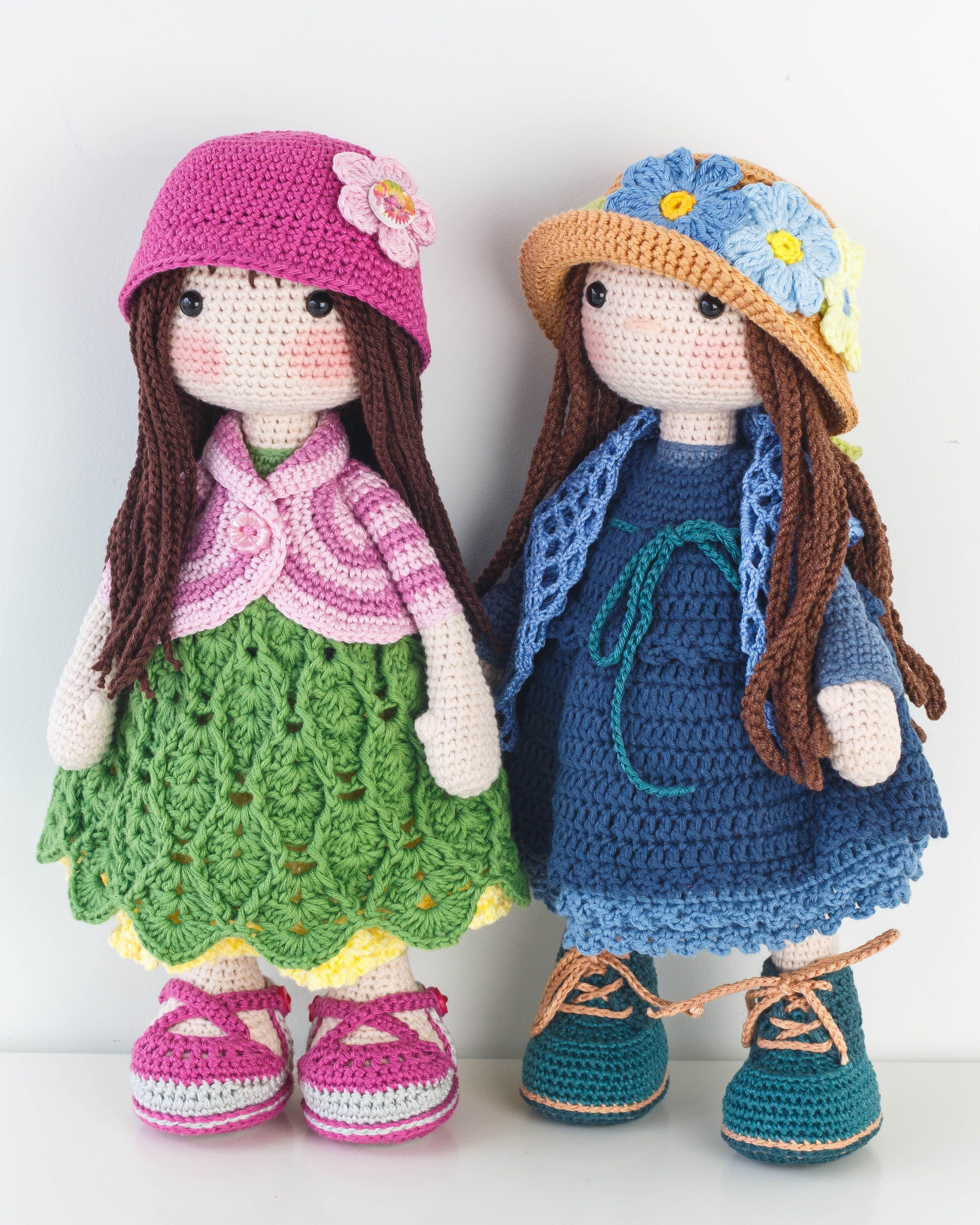 Amigurumi Doll Free Pattern | 4391x3513