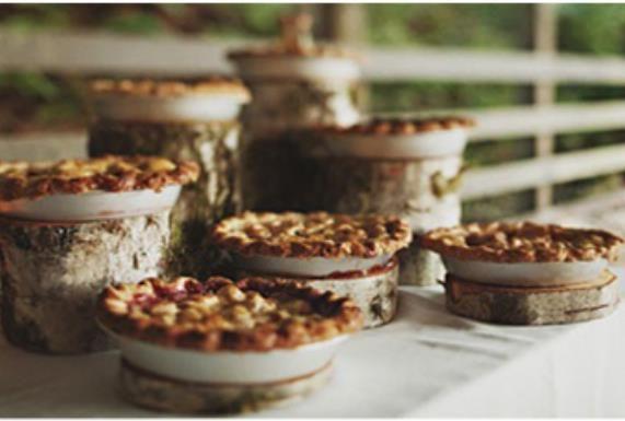 layered pies