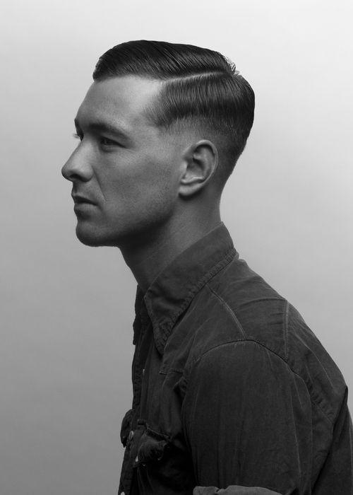 Taglio capelli uomo vintage