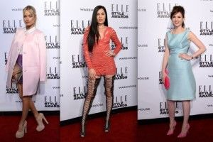 In Pictures: Red Carpet Arrivals at the Elle Style Awards