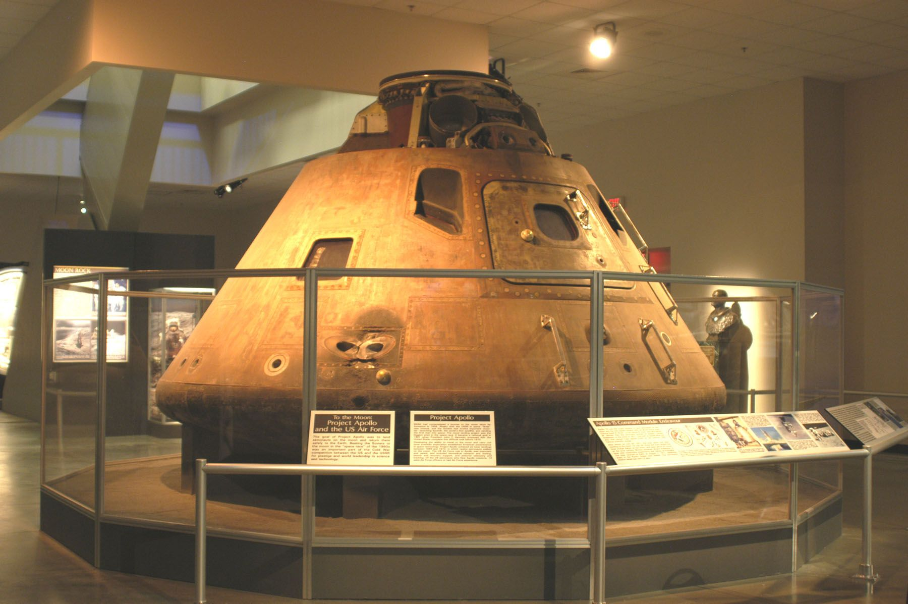 Apollo 15 Command Module National Museum of the United