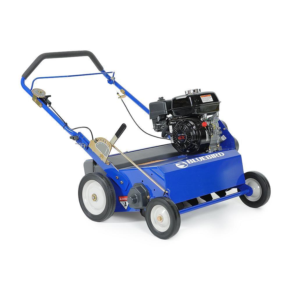 BLUEBIRD 5.5 HP 22 in. Gas Powered Seeder with Honda GX160
