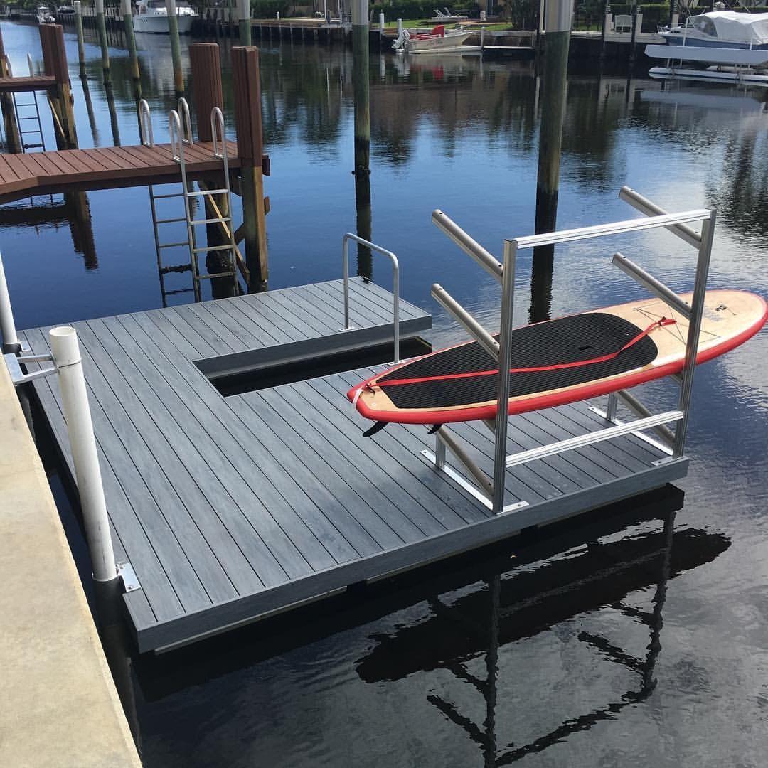 Kayak Paddle Sports Floating dock, Kayak storage, Boat dock
