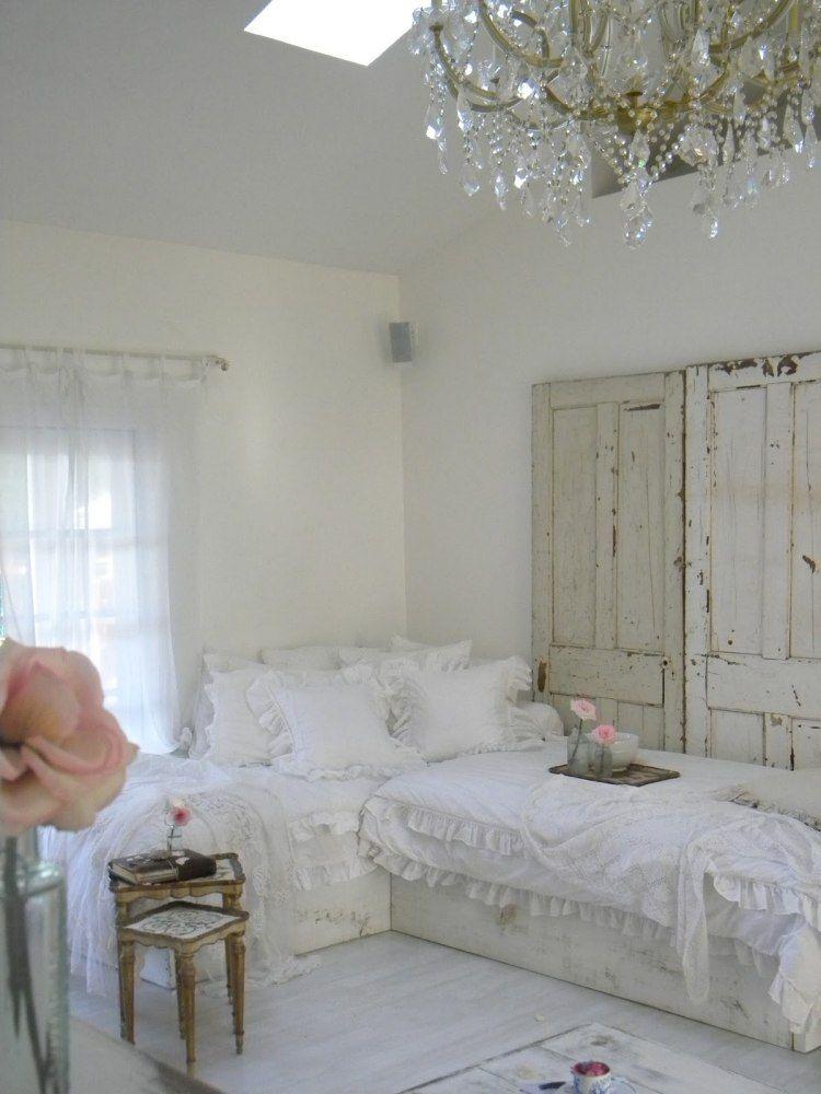 Cottage anglais dans la chambre adulte en 55 id es cool for Interieur chambre adulte