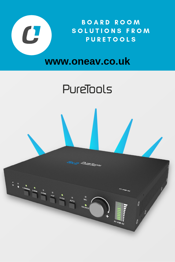 Board Room solutions from PureTools and the PTPSW52