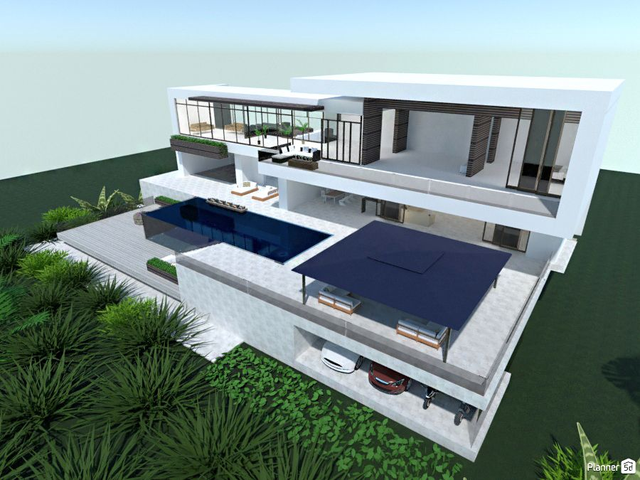 Modern Architecture Planner 5d Home Design Software Interior Design Tools Software Design