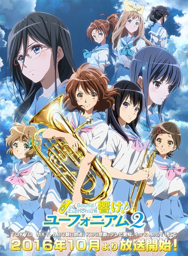 Sound Euphonium 2 Gets Second Visual Broadcaster List Anime