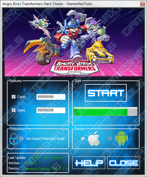 angry bird transformer download for android