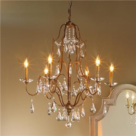 Elegance crystal swag chandelier 6 light master bedroom 749 elegance crystal swag chandelier 6 lt aloadofball Choice Image