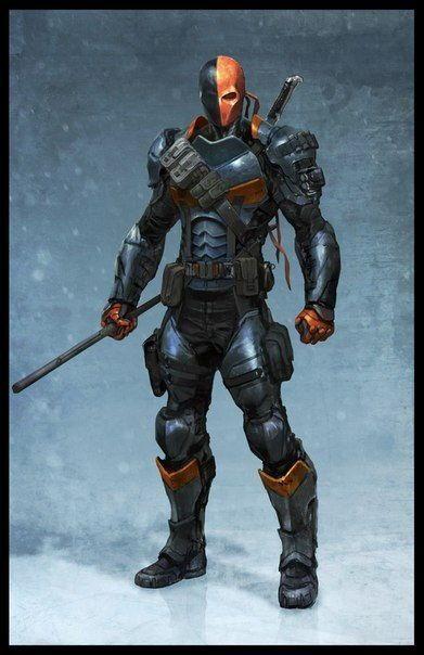 DC Comics - Deathstroke's Armor Free Papercraft Download - http://www.papercraftsquare.com/dc-comics-deathstrokes-armor-free-papercraft-download.html#Armor, #Batman, #DCComics, #Deathstroke