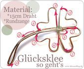 Photo of Alessa's blog: {DIY} lucky clover made of wire …
