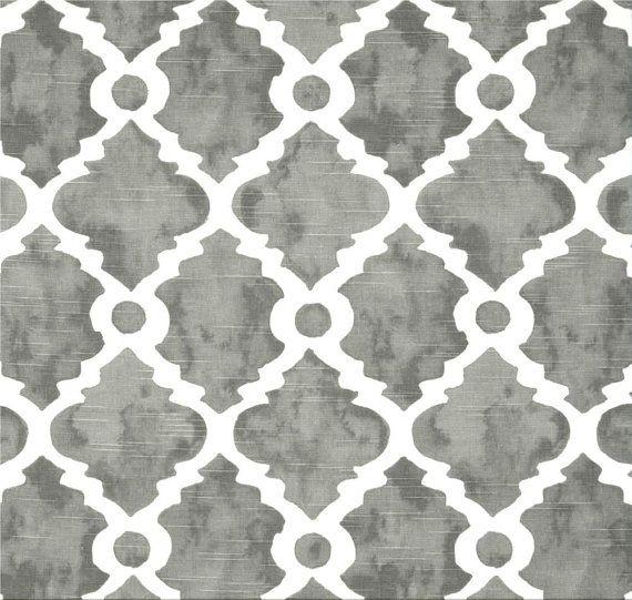 Superbe Grey Fabric, Geometric Grey Home Decor Fabric By The Yard, Designer Drapery  Or Upholstery Fabric, Grey Home Decor Fabric, Grey Craft Fabric