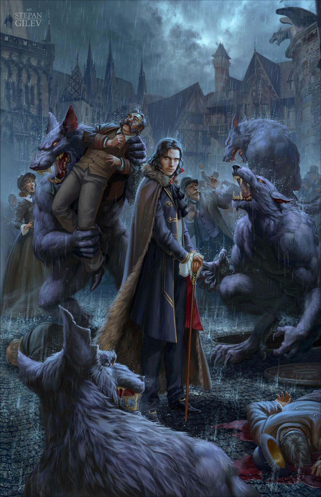 ArtStation Werewolves. Оборотни., Stepan Gilev in 2020