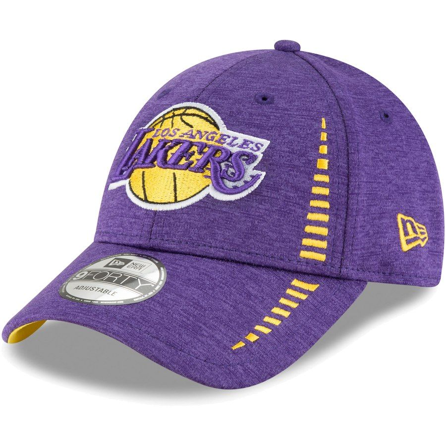 new style f928c 7625a Men s Los Angeles Lakers New Era Purple Speed Shadow Tech 9FORTY adjustable  hat, Your Price   23.99