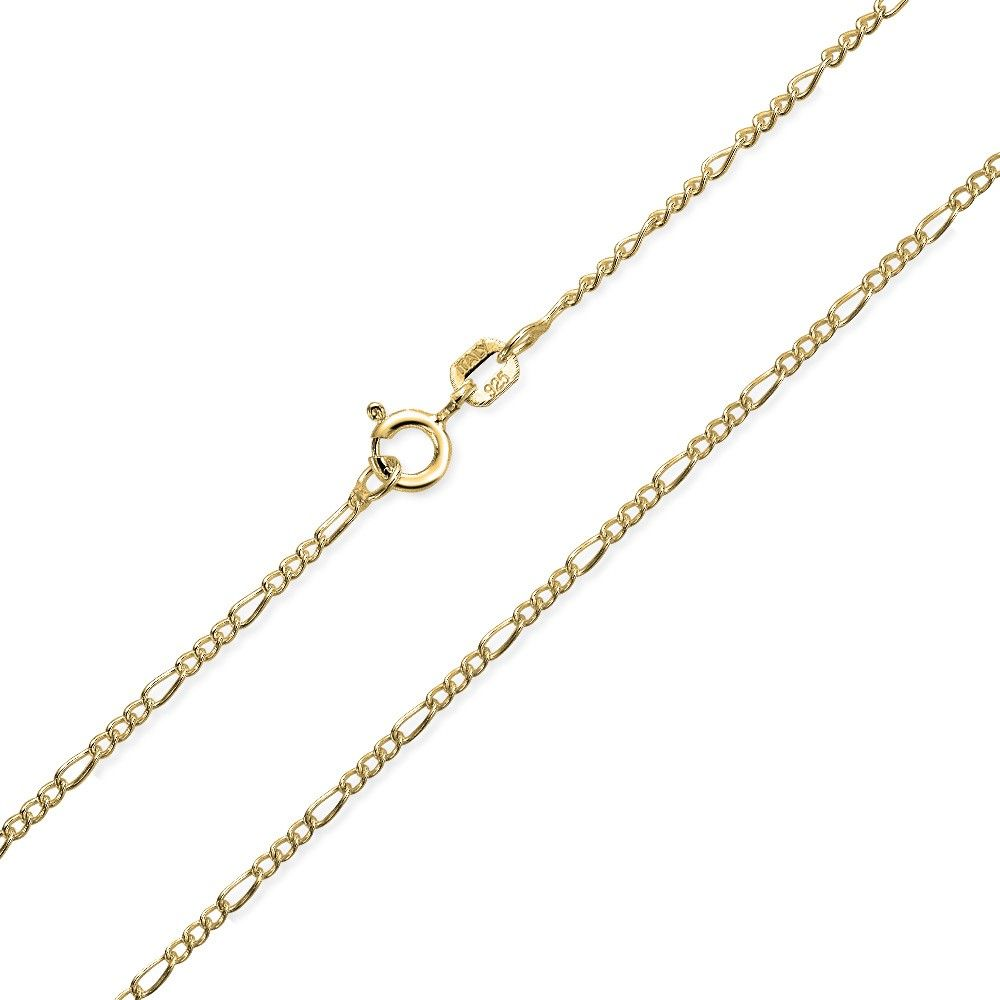 Bling Jewelry Gold Plated 30 Gauge Italy Rope Chain DmE21tEAG