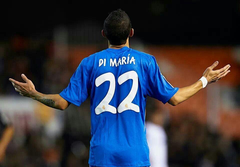 Angel Di Maria 22 Madrid Real Madrid Soccer Real Madrid Football Real Madrid Football Club