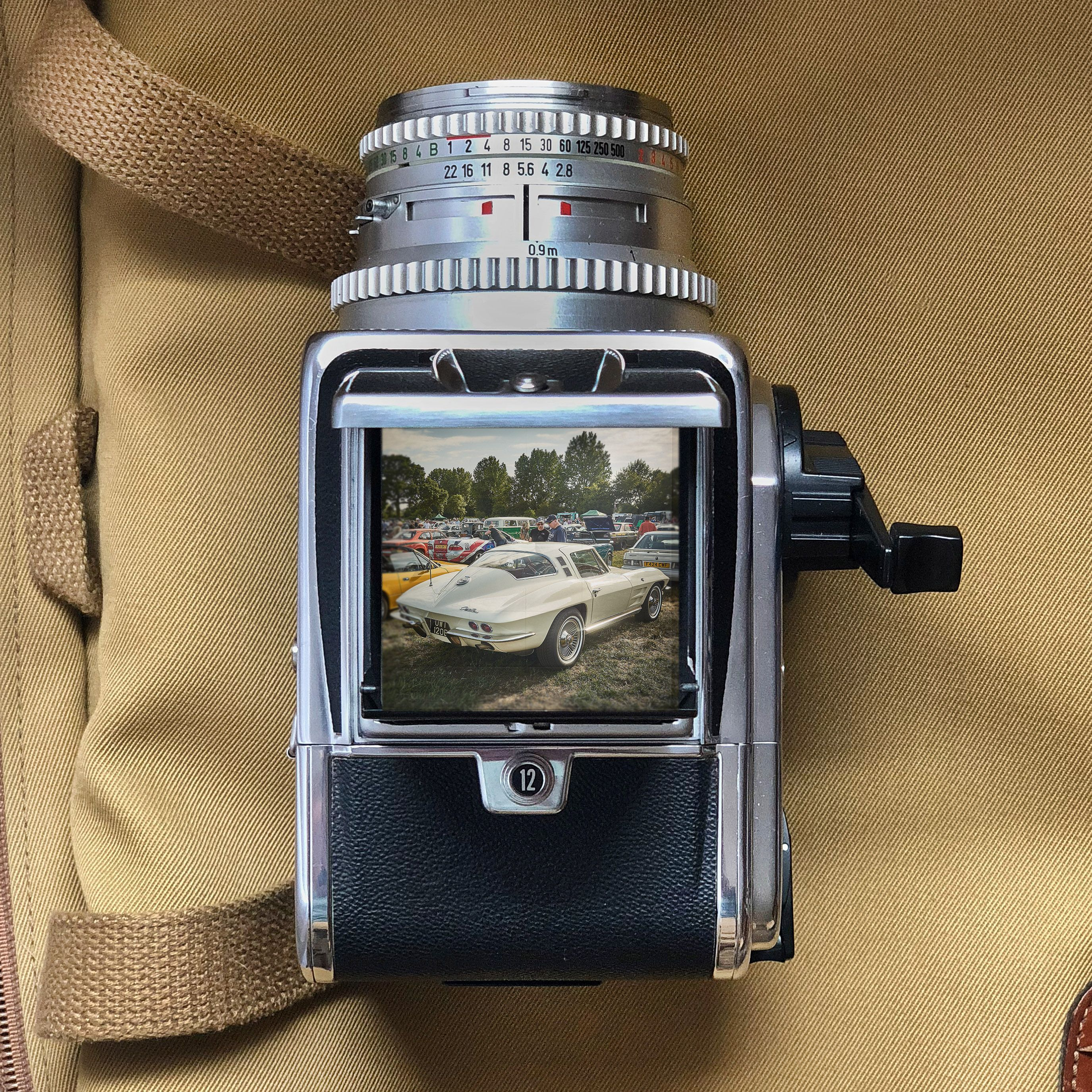 Hasselblad 500 CM with the classic chrome 80mm f2 8 lens
