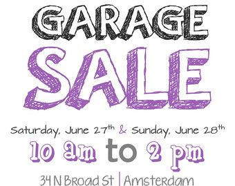 Garage Sale Flyer Template  Garage Sale    Sale Flyer