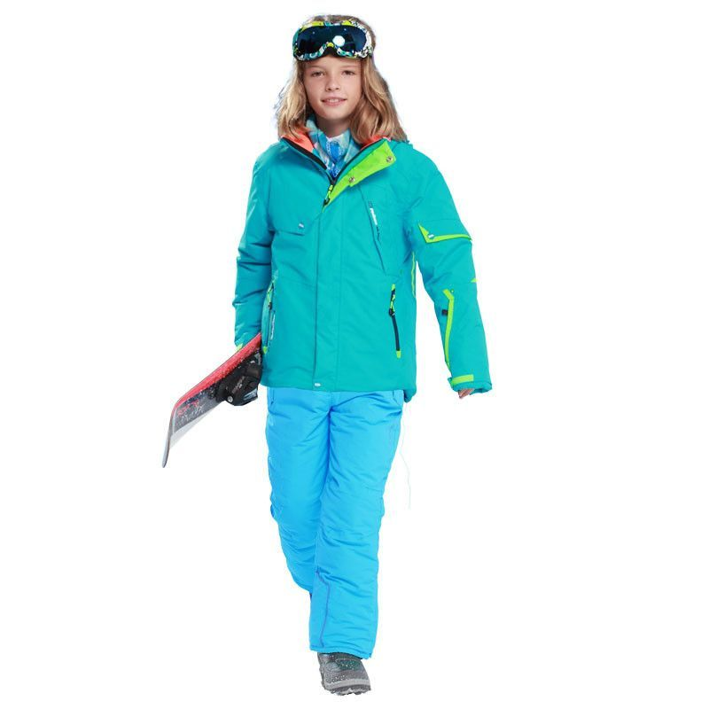 833202aba Detector Boys Ski Set Waterproof Windproof Warm Ski Jacket Kids ...