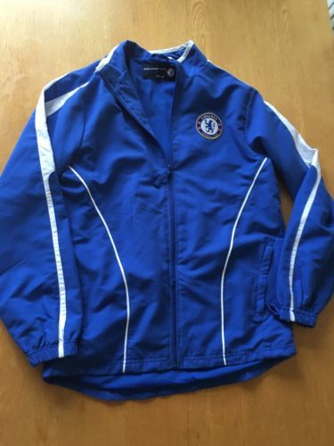 Boys chelsea training #jacket xlb approx 12-14 #years blue #excellent,  View more on the LINK: http://www.zeppy.io/product/gb/2/322076088860/