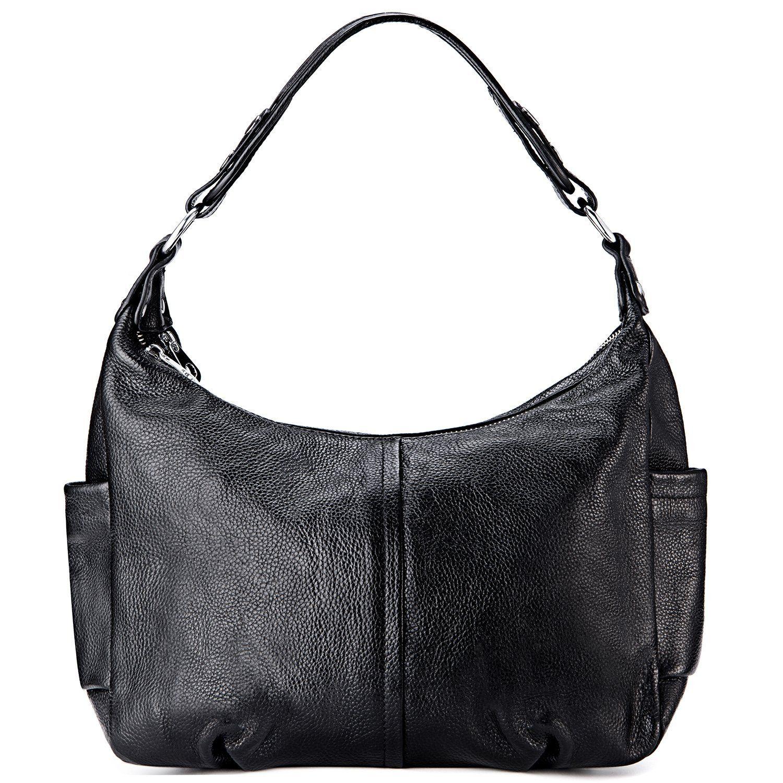 b1f262ab8d12 GRM Women s Vintage Leather Hobo Crossbody Shoulder Bag