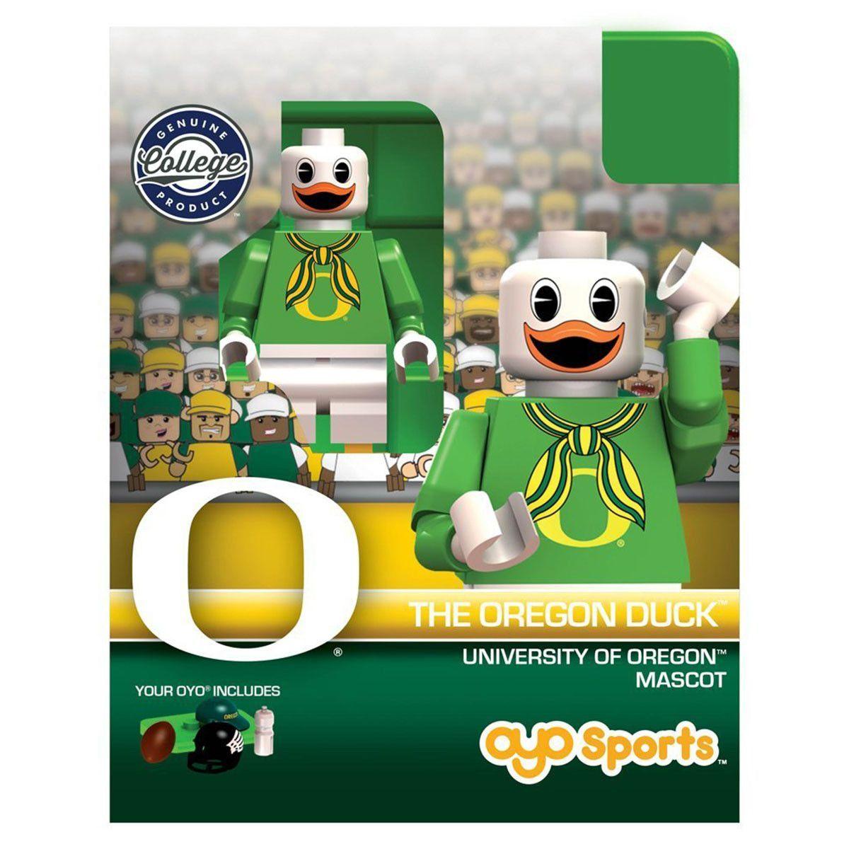 NCAA Oregon Ducks Mascot OYO Mini Figure Oregon ducks