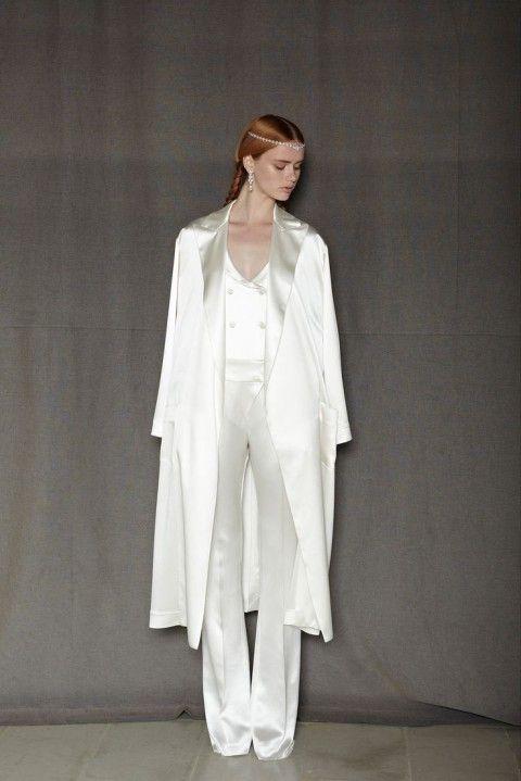 2014 Wedding Trend 53 Elegant Bridal Pantsuits The