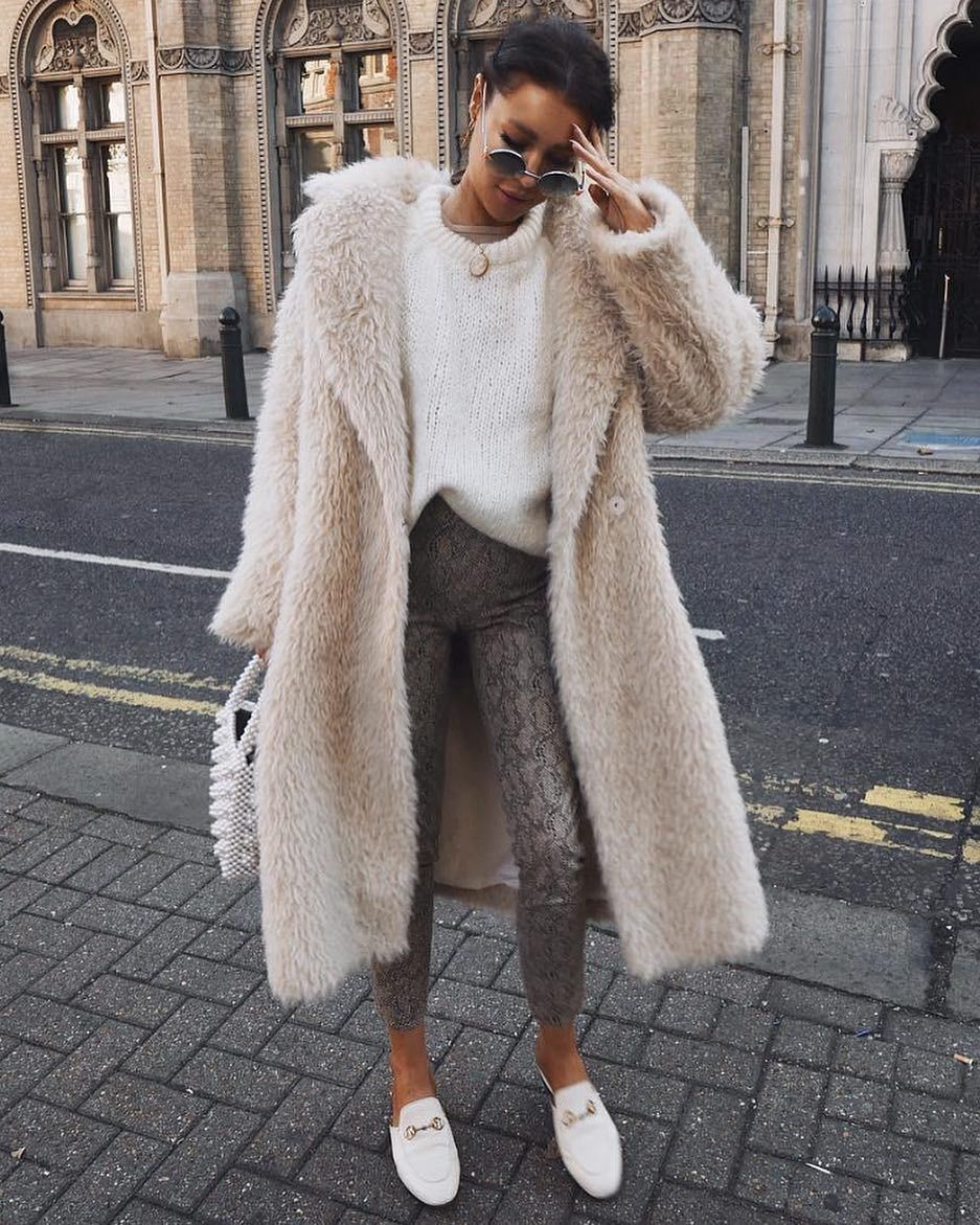 """075001339ab32f Nordic Style Report on Instagram  """"Fluffy fake fur 😍"""