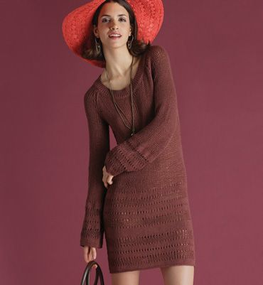 robe phildar femme