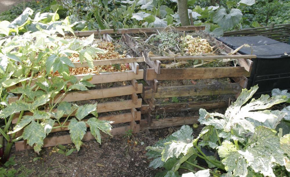 gemüsegarten anlegen und planen, Garten und Bauten