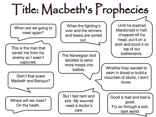 the man of the battlefield in the tragedy of macbeth a play by william shakespeare About fifteen years before shakespeare composed macbeth, playwright christopher marlowe wrote doctor faustus, a play in which the title character summons the demon mephistopheles, sells his soul to lucifer, and then plays practical jokes on the pope before being dismembered and dragged to hell.